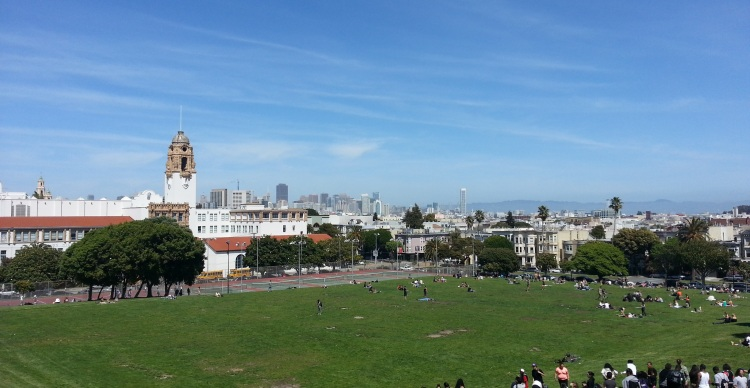 Mission Dolores Park April 2013